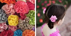 Carnation Hair Bows – 47 Colors Available