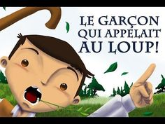 English is FUNtastic: The Boy Who Cried Wolf - video and video script French Songs, French Films, French Teacher, Teaching French, Communication Orale, Listen To Reading, Ap Literature, Film D, Album Jeunesse