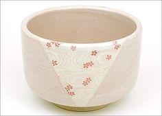 【茶道具・抹茶茶碗】美濃焼 桜とうず抹茶茶碗