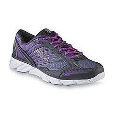 Fila Women's Fresh 3 Gray/Purple Athletic Shoe