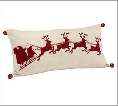 I am glad Pottery Barn brought this pillow back for 2011 season - it sold out last year!