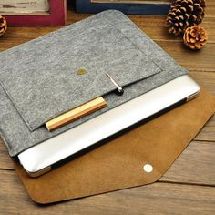 Leather Laptop or Notebook Case