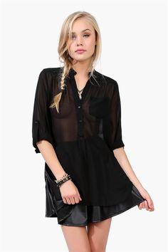 Mira Blouse in Black
