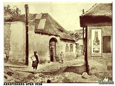 tabán-anno: ARANYKAKAS UTCA 1920