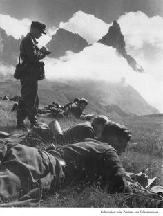 Germany mountain division in Caucasus southern Russia. Summer 1942.