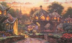The wondrous and magnificent world of Dinotopia by the brilliant James Gurney