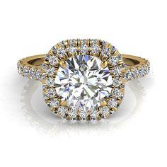 Bague de fiançailles solitaire bague diamant 1.40 carats or jaune Margueritta  #diamants #BagueDiamant #bouclesd #BagueDiamantRond #CamogliEmeraude #OrJaune #PendentifDiamantElena #Solitaire4Griffes #PendentifDiamant #SolitaireDiamant