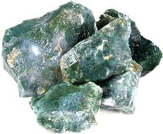 Image result for moss agate raw