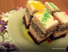Пляцок «Тюльпан» Food And Drink, Sweets, Cakes, Recipes, Gummi Candy, Cake Makers, Candy, Kuchen, Cake