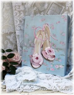 Dancing Shoes is an original painting by Gail McCormack and is for sale at this link.