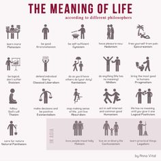 There are different theories on what the purpose of human life.