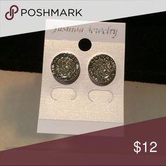 Earrings Silver tone earrings Jewelry Earrings