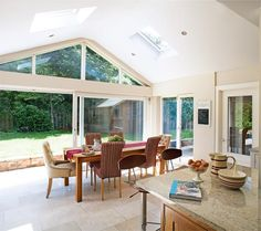 We Love The Open Plan Kitchen/diner/living Area In This Extended 1970s House