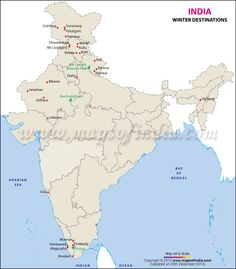 Airports and air route map of India   Map Of India   Pinterest ...