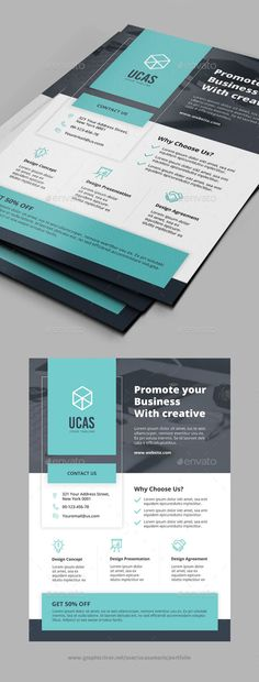Corporate #Business #Flyer - #Corporate Flyers