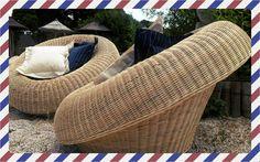 Rattan Armchair Cristine natural  by Bamboo Sfantos furniture rattan#furniture#Greece