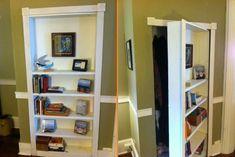 DIY Bookcase Secret Door | Home Design, Garden & Architecture Blog Magazine
