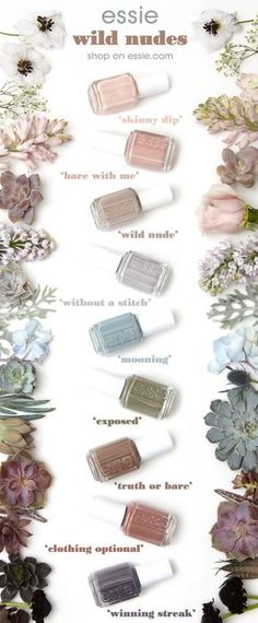 Coming Soon : Essie Wild Nudes 2017 Collection | Essie Envy