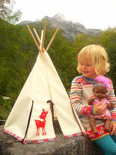 Doll Teepee/Tipi - My Forest Friend