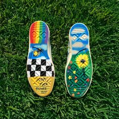 I rock I roll I bloom I grow . killed it with these custom Erik X x … I rock I roll I bloom I grow . killed it with these custom Erik X x Converse… Continue Reading → Painted Vans, Painted Shoes, Golf Shoes, Vans Shoes, Tn Nike, Pumps, Shoe Art, Custom Shoes, Diy Clothes
