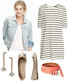 A denim jacket from Old Navy is featured as this week's budget fashion find, along with three ways to wear a light wash denim jacket for spring.