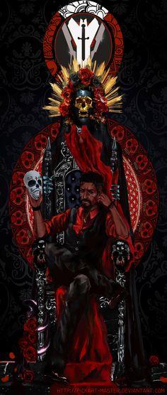 Santa Muerte by Pickart-master
