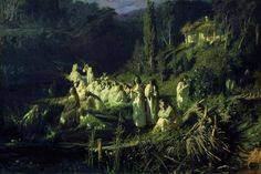 Русалки, 1871 - Иван Крамской - WikiArt.org