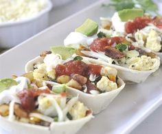 Breakfast Taco Boats