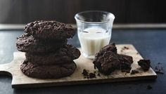 Intense chocolate cookies - for that hard core chocolate fix.