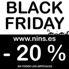 Como no podemos esperar al Viernes  - 20% de descuento en toooodos los artículos de nuestra web www.nins.es a partir de hoy mismo!!! Aprovecha EL BLACK FRIDAY desde ahora mismo. Te lo vas a perder?  ##nins #ninsmanresa #manresa #sonnyangelbynins #sonnyangel #sonnyangels #blackfriday #oferta #Navidad #compras #rebajas #adenandanais #kidsfashion #baby #bebe #modainfantil #kidsstyle #kidsoutfits #sales #babybites #molo #petitoh