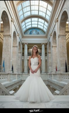 Arkansas Capitol bridal portrait | Tim Rand Photography | Arkansas Wedding Photography | Little Rock bridal photography | Little Rock Wedding Photography | Little Rock Wedding Photographers