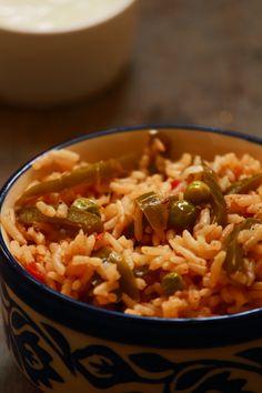 capsicum rice - tast