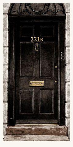 ... and address 221b Baker Street