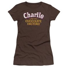 Charlie and the Chocolate Factory: Logo Junior T-Shirt