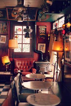 Bar style. barcelona, spain