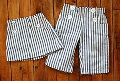 Oliver + S Sailboat Pants and Skirt