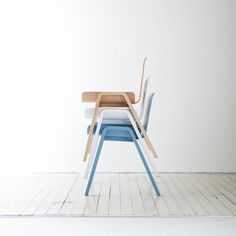 Economical chair is designed with the intention of minimizing the industrial waste