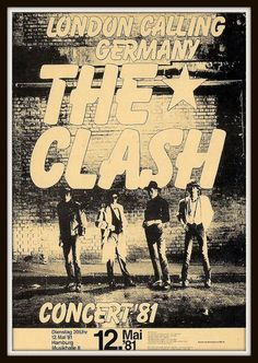 The Clash Germany '81