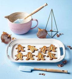Making these cute-as-can-be gingerbread men is fun for all ages and a great holiday tradition. Let the kids help with rolling out the dough and pressing out the shapes, then after baking, they can have fun decorating!