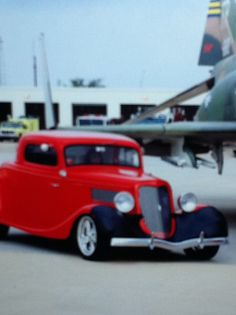 My aunts 34 ford coupe Aunts, Ford Gt, Custom Cars, Muscle Cars, Cool Cars, Hot Rods, 1930s, Awesome, Red