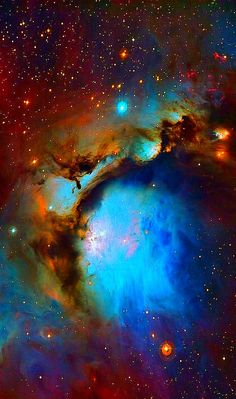 "n-a-s-a: "" The Nebula Messier 78 is a reflection nebula in the constellation Orion and M78 is the brightest diffuse reflection nebula of a group of nebulae. """