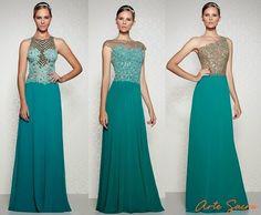 Vestidos de madrinha verde: verão 2014