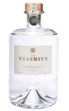 The Teasmith Gin - Udny, Scotland. Botanicals: juniper, coriander seed, orange peel, rose petals, liquorice root, orris root, hand-rolled Ceylon black oats. Recommended garnish: fresh mint.