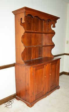Antique 2-Pc Hutch  STUFF Estate Sales & Online Auctions - items from next online auction to be posted within a couple of week.