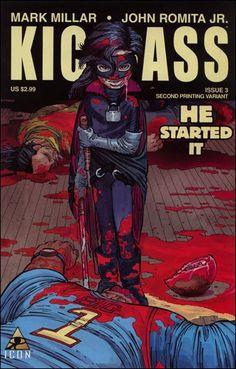 kick ass comic books covers   Kick-Ass 3-B by Icon