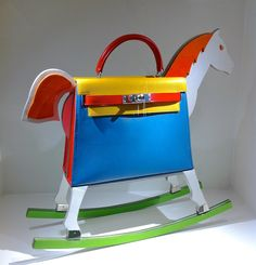 """Hermes Kelly bag, a piece that belongs to the exhibition """"Essence of leather""""of Hermès  piece was manufactured especially for VIP"""