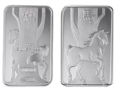 From the PAMP Lunar Calendar series, the 2014 Horse Silver Bullion Bar. NEW IN STOCK with discounts for bulk purchases from http://www.ukbullion.com/catalogsearch/result/?q=horse