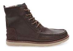 undefined Chocolate Brown Full Grain Leather Men's Searcher Boots