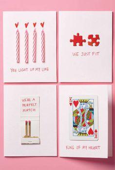 Carte Saint-Valentin à faire soi même Plus