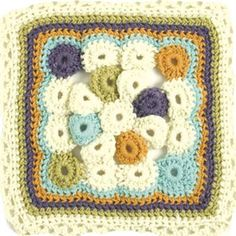 The Chain Reaction Afghan Project: Circles Squared - Crochet Me